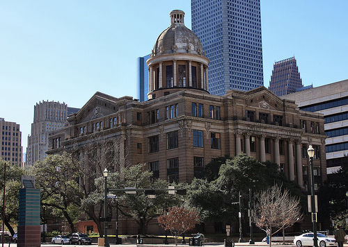 I tried the last case to be tried in the old Harris County courthouse.